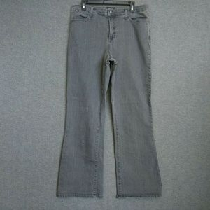 NYDJ Relaxed BootCut Jeans Size 18 Stretch Gray